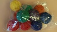 Led Battery Operated Globe Bulbs/string Lights, Colorful