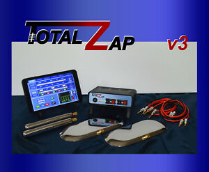 TotalZap v3.4 Zapper, Rife, Relaxation, Light Therapy, Virus, 3600 Treatments
