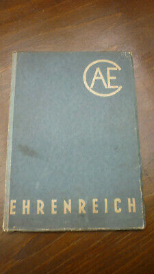 Aufstrebend Altes Heft Ehrenreich Kugelgelenke & Lenkgestänge Von 1943 ; 71 Seiten Oldtimer