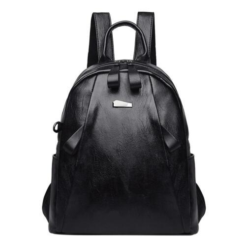 Women PU Leather Backpack Schoolbag Handbag Shoulder Bag Satchel Travel Rucksack