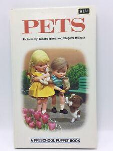 Pets-A-PRESCHOOL-PUPPET-BOOK-Tadasu-Izawa-Acceptable-needs-TLC