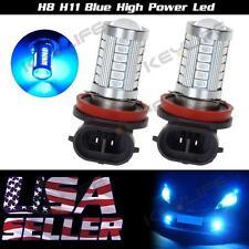 2PCS H8/H11 40W Fog Light Driving Bulbs Blue 33-5730-SMD Super POWER Led