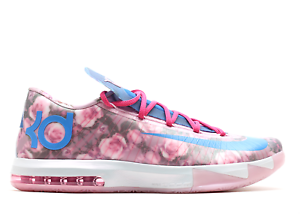on sale 8ebbb 1df0e Image is loading Nike-KD-6-VI-Aunt-Pearl-size-9-