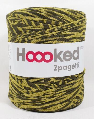 Hoooked /'zpagetti polo camuflaje/' nuevo sustancia hilados tejer 713 ganchillos