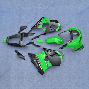 Carenado-Carroceria-Conjunto-de-ABS-Verde-Apto-Para-Kawasaki-Ninja-ZX6R-1998-1999-98-99-Nuevo