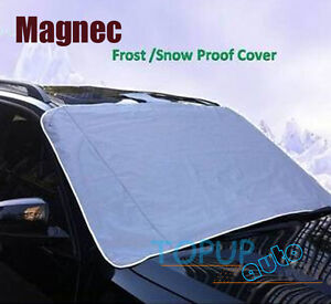 Magnetic Windscreen Car Cover Snow Visor Windshield Front