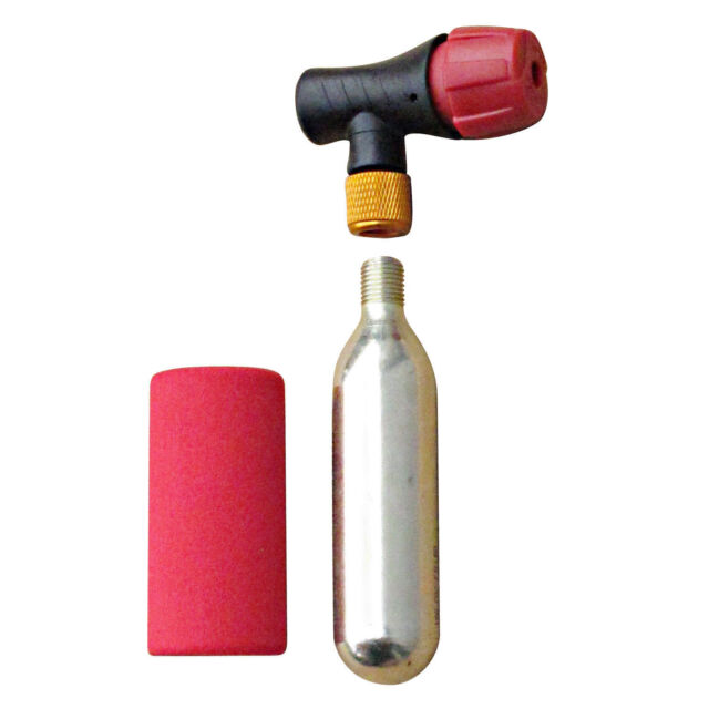 Positz Easy Jet Alloy Airflow CO2 Cartridge Inflator and Safety Sheath