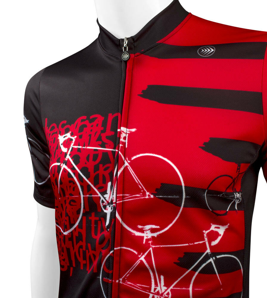 Aero Tech Designs Biking Big And And Big Tall Man Expressions Cycling Bike Jersey ac4de7