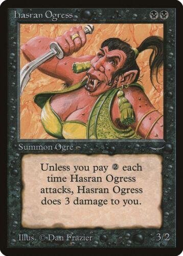 Arabian Nights NM-M Black Common MAGIC MTG CARD ABUGames Hasran Ogress a Dark