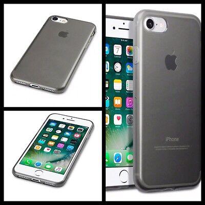 Apple Iphone 8 Case Cover Fumo Nero & Proteggi Schermo Spedizione Gratuita-