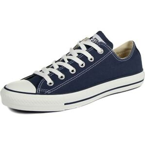 Mens Converse Shoes Navy All Star Chuck Taylor Low Top Ox M9697 6 8 ... 78d02eb9b0