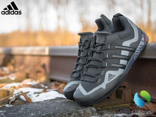 reputable site fa4c1 e13a3 Adidas Terrex Swift Solo Noir Chaussures Hommes de Randonnée Extérieur  Montagne 42 2 3   Achetez sur eBay