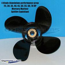 Mercury Mariner SpitFire 4Blade 10.3 x13 Propeller 48-8M8026630 40-50-60hp