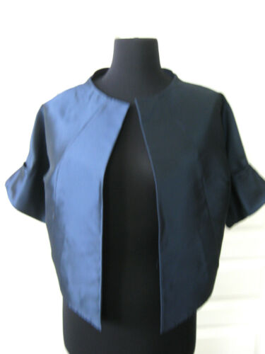 Jacket 10 Sz Blend Nwot Baday Silk Lida Cropped zq8CFwnH