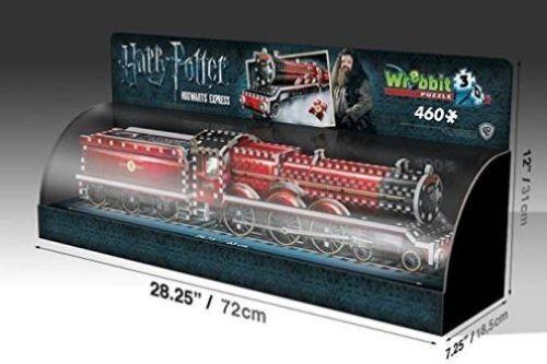 Hogwarts Express Display Harry Potter  3-D Puzzle, 460 Teile WREBBIT 3D (34525)