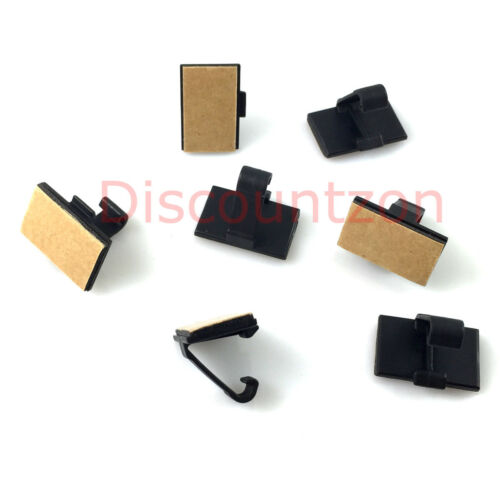7 Adhesive cable clip for Car Dash cam hard wire//GPS power charger//Radio Antenna