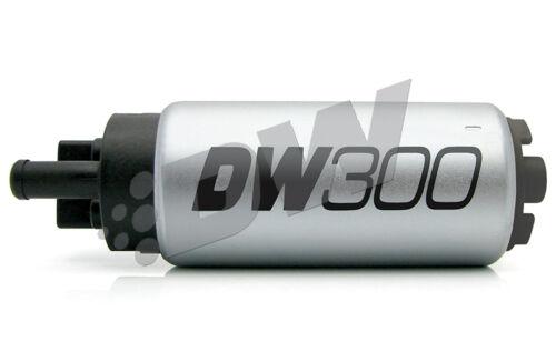 LPH In-Tank Fuel Pump /& Universal Install Kit 9-301-1000 JDM DeatschWerks 300