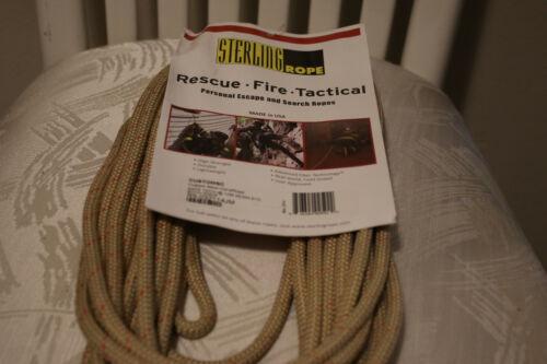 STERLING FIRE RESCUE LIFELINE ROPE 8MM 40/'