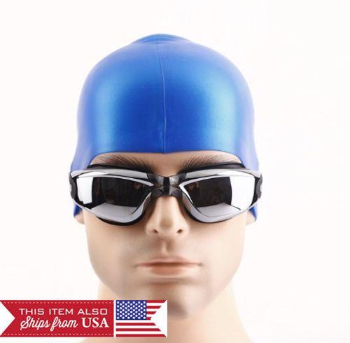 New Fashion Adult men Anti-fog Waterproof UV Protection Swimming Goggles Glasses