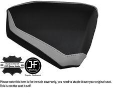 DESIGN 2 GREY & BLACK CUSTOM FITS KTM RC8 R 1190 REAR LEATHER SEAT COVER