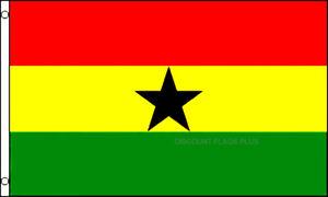 Ghana  International  3x5 Polyester Flag