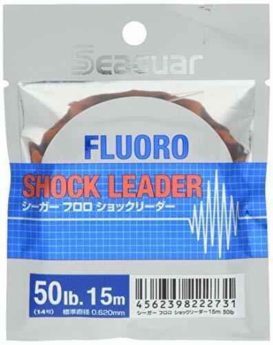 KUREHA Seeger Fluorochemicals shock leader 15m 50LB clear