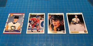 SALE-1990-SCORE-428-amp-Upper-Deck-JAROMIR-JAGR-ROOKIE-CARDS-PITTSBURGH-Penguins