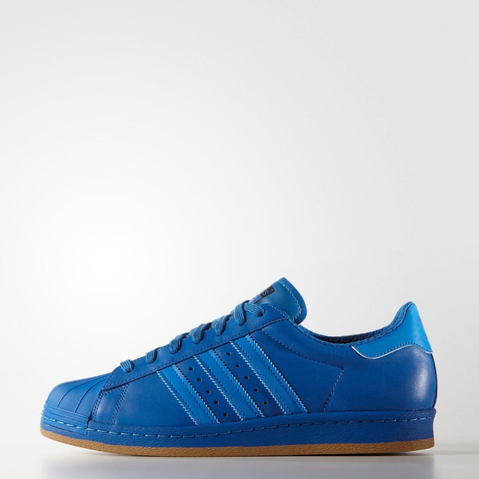 Adidas superstar años 80 Reflectante Nite Jogger azulbird Goma  Reino Unido 7.5
