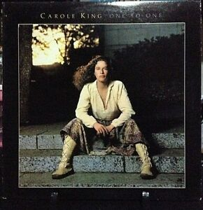 CAROLE KING One To One Released 1982 Vinyl/Record Collection US pressed