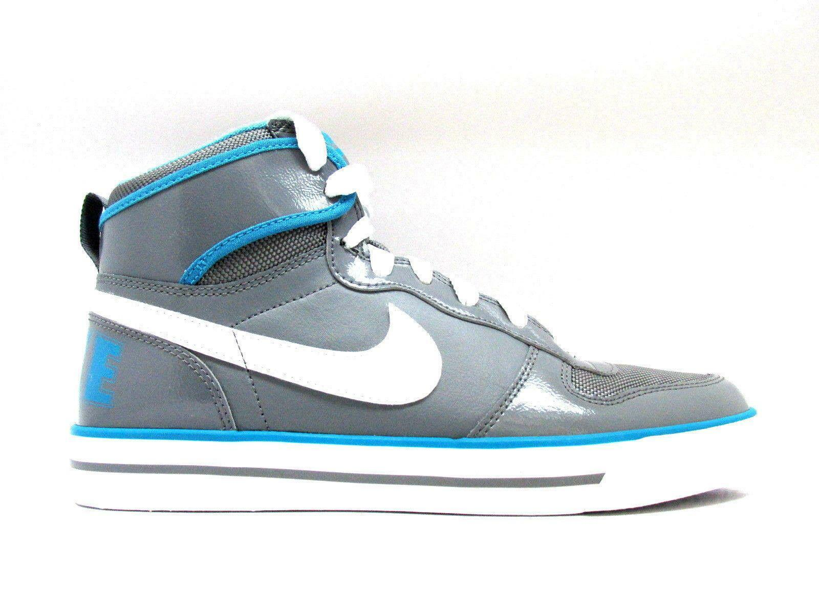 femmes  BIG NIKE HIGH AC LEATHER Cool  Gris  Trainers 542224 014