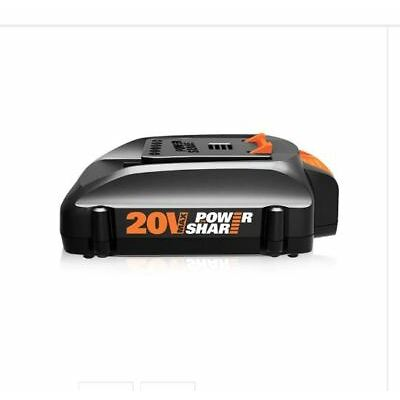 WORX WA3575 20V MaxLithium Poweshare Battery for Trimmer, Hedge Trimmer, Blower