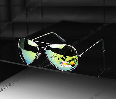 New POLARIZED Aviator Sunglasses  Mens Women's UV400
