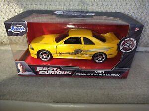 fast furious leon s yellow nissan skyline gt r r33 die cast 1 32 jada toys ebay jada toys