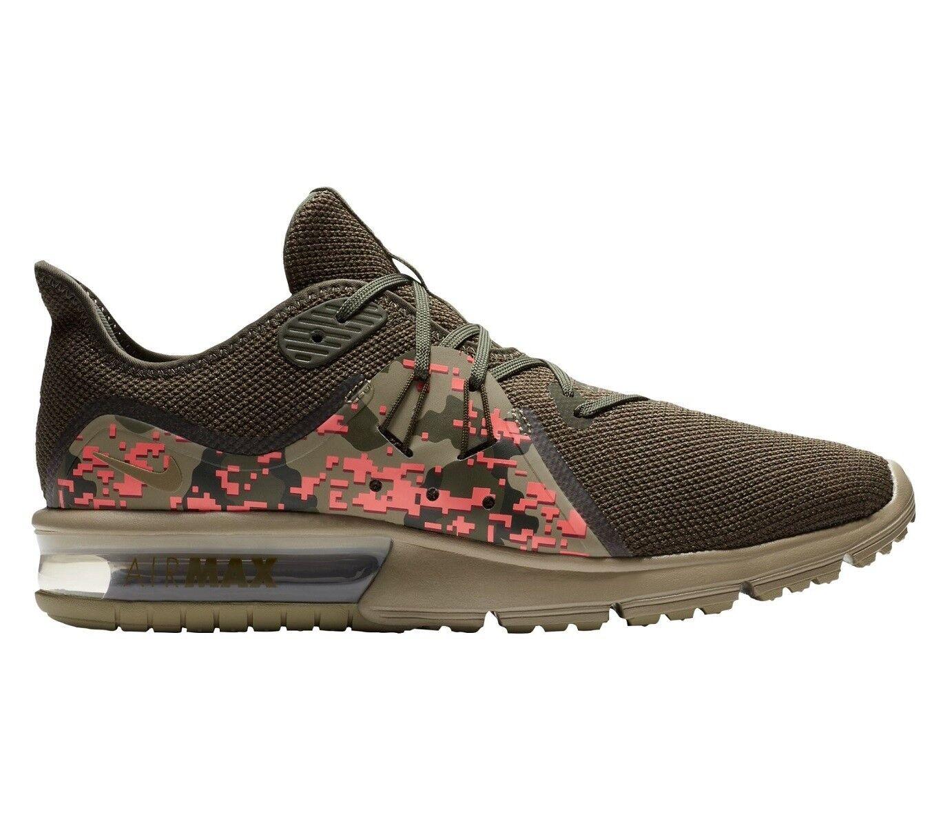 Nike Digi Air Max Sequent 3 Digi Nike Camo Hombre Corriendo Zapatos Tamaño 6.5 aj0004-201 oliva 826f7f