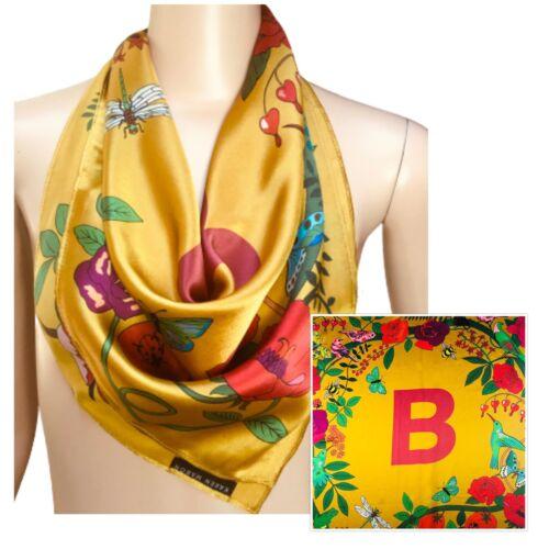 Karen Mabon -B- Initial Red Gold Soft Designer Sil