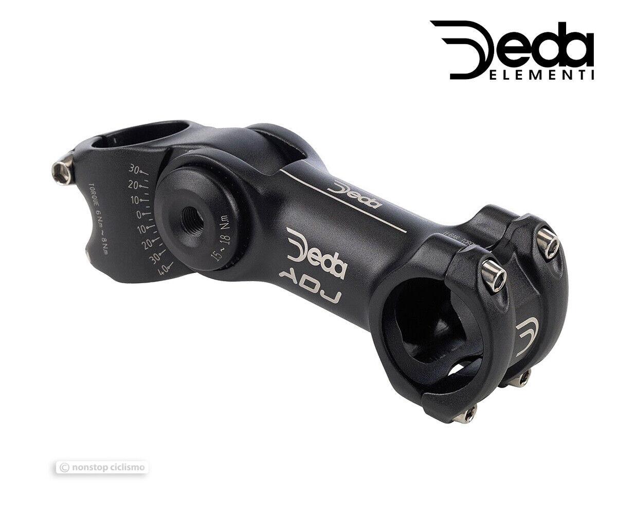 Deda Elementi ADJ Adjustable Angle 31.8 Alloy Bicycle Stem 30°40°   90110 mm