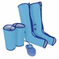 Air Compression Leg Wraps Regular Massager Foot Ankles Calf Therapy Circulation