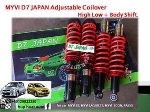 MYVI-D7-JAPAN-Adjustable-Coilover-High-Low-Body-Shift