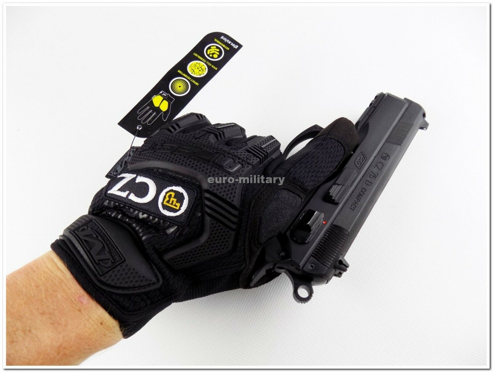 CZUB® Tactical Military Shooters Gloves - Mechanix Wear M-PACT® CZ Original New