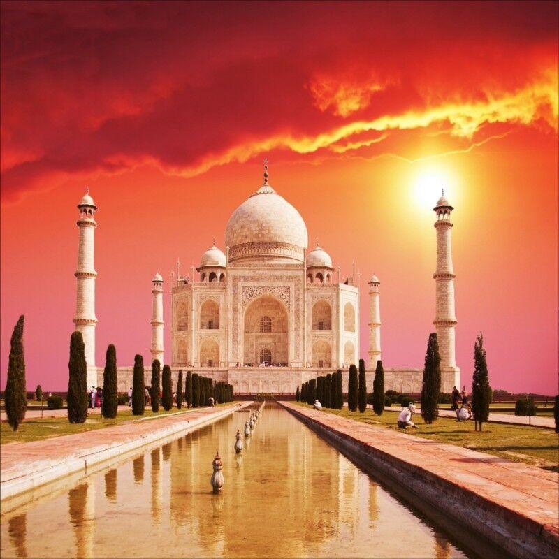 Stickers muraux :temple déco :temple muraux Taj Mahal 1264 41f6d5
