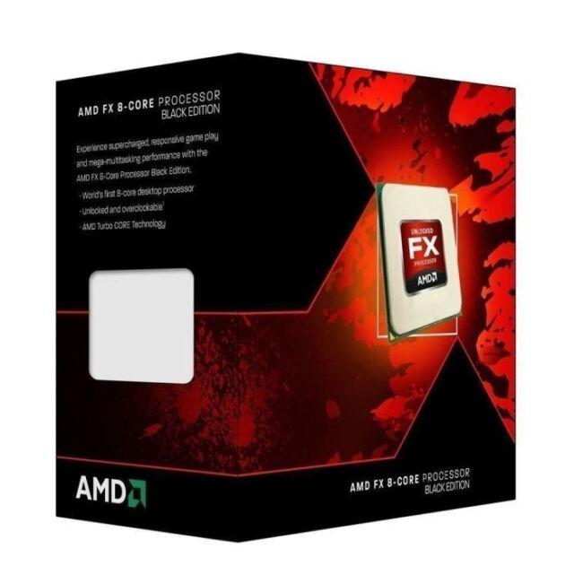AMD Black Edition - AMD FX 8350 - 4 GHz - 8-Core - 8 Threads - 8 MB Cache-Speich