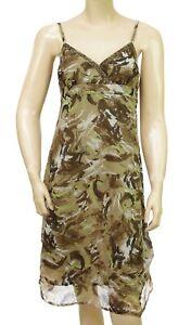 Robe-bretelles-camouflage-kaki-DDP-femme-F9CAEP4