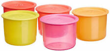 Tupperware One Touch Air Tight Seal Containers,600 ML,(4+1 free) Assorted Colors