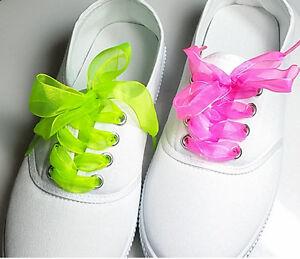 8892c70b250 2cm Wide Flat Shoelaces Voile Ribbon Lace Snow yarn Shoe Laces Sport ...