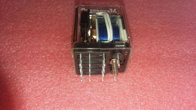 NTE Electronics R12-17A3-240 RELAY-240VAC 4PDT 3AMP PLUG-IN//SOLDER TERMINALS