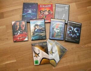 8-DVDs-diverser-Fantasy-Science-Fiction-Action-Filme-als-Special-Editions