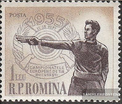 Romania 1535 complete issue unmounted mint never hinged 1955 european champi