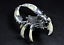 Teeth-of-wolves-Tibetan-silver-Scorpion-Pendant-decorate-Statues miniature 4