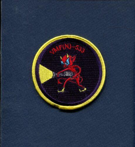 N AW -533  HAWKS USMC MARINE CORPS F-18 HORNET Squadron Patch -533  VMF VMFA
