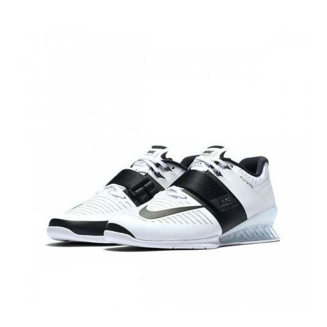 new Women's Nike Romaleos 3 White Black